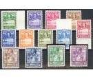 SG155-167. 1932 Set of 13. Brilliant fresh U/M mint...