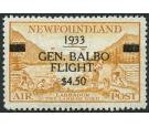 SG235. 1933 $4.50 on 75c Yellow-brown. 'BALBO'. Brilliant fresh
