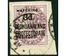 SG12a. 1900 3d on 1d Lilac. 'SURCHARGE DOUBLE'. Brilliant fine..