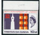SG 101w. 1966 10d Multicoloured. 'Wmk. Crown to right of CA' U/M