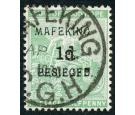 SG1. 1900 1d on 1/2d Green. Superb fine used...