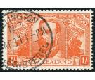 SG458. 1920 1/- Orange-red. Exceptionally fine used...