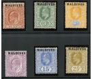 SG1-6. 1906 Set of 6. Superb mint...