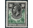 SG16. 1925 10/- Green and black. Very fine well centred mint...