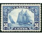 SG284. 1929 50c Blue. Brilliant fresh U/M mint...