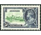 SG33k. 1935 5d Green and indigo. 'Kite on vertical log'. U/M min