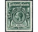 SG66. 1912 3/- Slate-green. Superb fresh well centred mint...