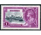 SG248a. 1935 1r Slate and purple. 'Dot by flagstaff'. Superb fre