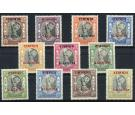 RAJASTHAN. SG15-25. 1950 Set of 11. Superb fresh mint...
