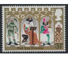 SG948d. 1973 Christmas 3 1/2p 'Blue Omitted'. U/M mint...