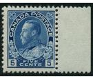 SG205b. 1912 5c Deep blue. Brilliant fresh U/M mint marginal...