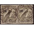 SG203. 1932 £1 Olive-grey. Superb used pair...