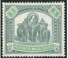 SG23. 1900 $1 Green and pale green. Very fine fresh well centred