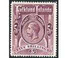 SG67a. 1914 5/- Reddish maroon. Brilliant fresh U/M mint...