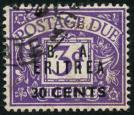SG ED9w. 1950 30c on 3d Violet. 'Watermark Inverted'. Superb fin
