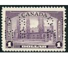 SG O130. 1939 $1 Violet. Brilliant Post Office fresh U/M mint...