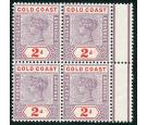 SG27b. 1902 2d Dull mauve and orange-red. Brilliant fresh U/M mi