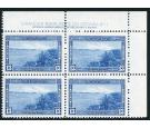 SG364. 1938 13c Blue. Brilliant fresh U/M imprint block of 4...