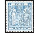 SG F210. 1952 £4 Light blue. Superb fresh U/M mint...