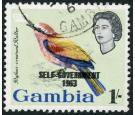 SG208a. 1963 1/- Multicoloured. 'Overprint Double'. Brilliant fi
