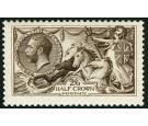 SG399. 1913 2/6 Vandyke brown. Brilliant U/M mint...