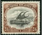 SG16a. 1905 2/6 Black and brown. Very fine fresh well centred mi