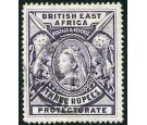 SG94. 1897 3r Deep violet. Brilliant fine well centred used...