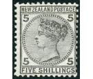 SG186. 1878 5/- Grey. Superb fresh mint with excellent colour an