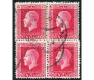 SG425e. 1915 6d Carmine. 'Mixed Perforations'. Very fine used bl