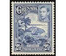 SG157a. 1950 2 1/2d Bright blue. Superb U/M mint...
