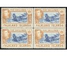 SG161b. 1938 5/- Indigo and pale yellow-brown. Superb U/M mint b
