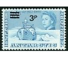 SG29w. 1971 3p on 3d Blue. 'Watermark Inverted'. Brilliant U/M m