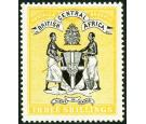 SG27. 1895 3/- Black and yellow. Superb fresh mint...