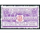 SG E3. 1936 6d Carmine and bright violet. Brilliant fresh U/M mi