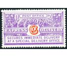 SG E5. 1939 6d Vermilion and bright violet. Brilliant fresh U/M