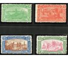SG370-373. 1906 Set of 4. Very fine mint...