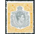 SG120ce. 1944 12/6 Grey and pale orange. 'Broken lower right scr