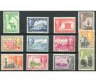 SG135-146. 1948 Set of 12. Brilliant fresh U/M mint...