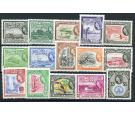 SG331-345. 1954 Set of 15. Brilliant fresh U/M mint...