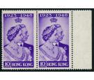SG171a. 194810c Violet. Spur on 'N'. U/M mint in pair...