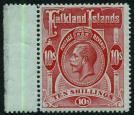 SG68. 1914 10/- Red/green. Superb fresh sheet marginal mint...