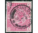 SG181. 1884. 5/- Crimson. Very fine used with 'GUILDFORD'...