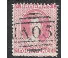 SG18. 1862 4d Dull rose 'Perf 13'. Choice used..