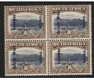 SG54. 1927 10/- Blue and bistre-brown. Post Office fresh UN/M...