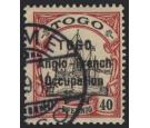 SG H20. 1914 40pf Black and carmine. Extremely fine...
