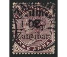 SG24. 1895 2 1/2 on 1a Plum. Very fine well centred...