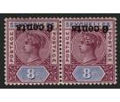 SG40a. 1901 6c on 8c 'Surcharge Inverted'. Superb fresh...