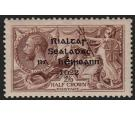 SG44. 1922 Thom. 2/6 Chocolate-brown. Brilliant U/M mint...