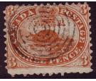 SG26a. 1859 3d Red. Perforation 11. 'Major Re-entry'...