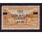 SG235. 1933 $4.50 on 75c yellow-brown. Superb fresh well...
